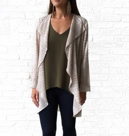 Gentle Fawn Grey Snake Long Jacket