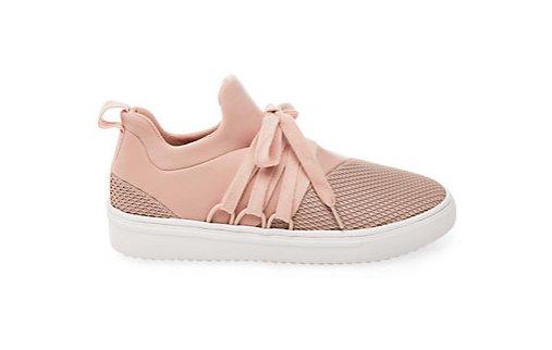 Blush Mesh Sneaker