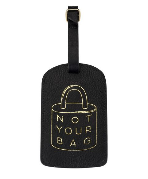 Boulevard Luggage Tag-Not Your Bag