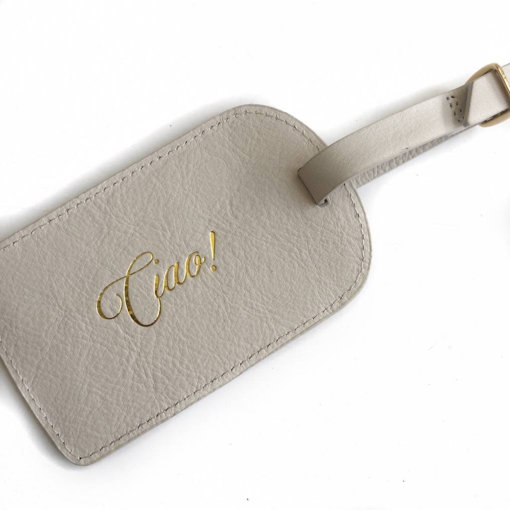 Boulevard Luggage Tag-Ciao!