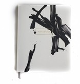 Black Paint Stroked Journal