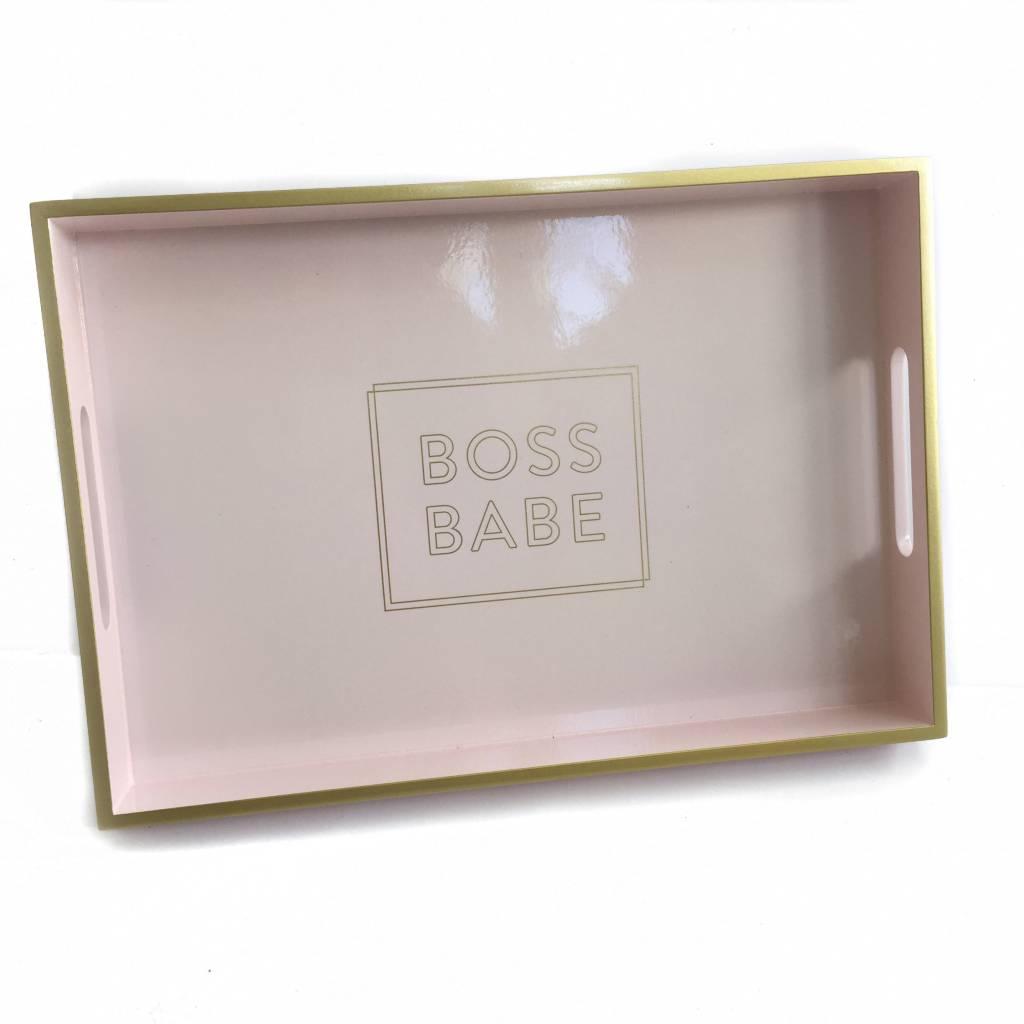 Boss Babe Tray