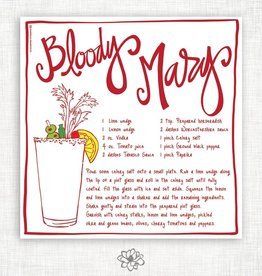 Bloody Mary Kitchen Towel