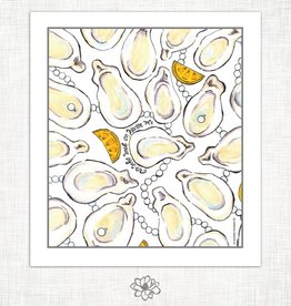 Magnolia Creative Oyster Kitchen Towel