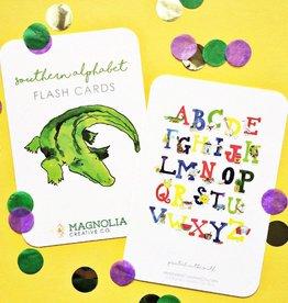 Magnolia Creative Southern Alphabet Flash Cards