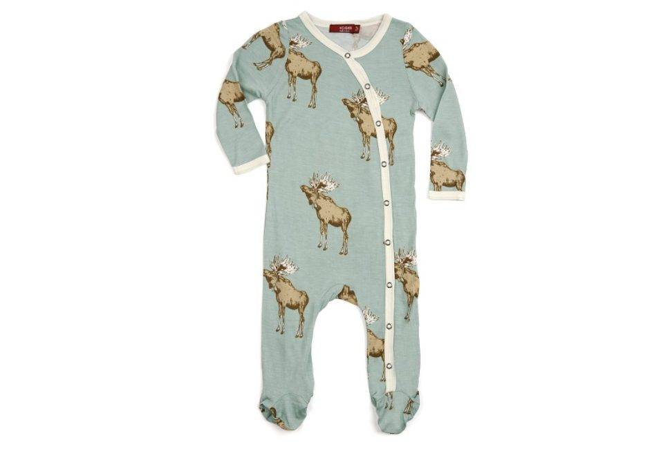 Bamboo Footed Romper