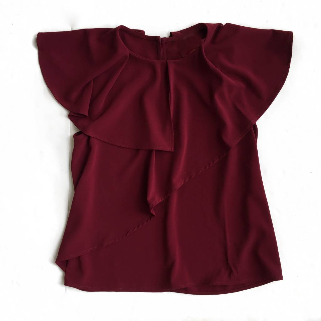 Wine Flutter Top