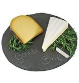 Circle Slate Cheese Board