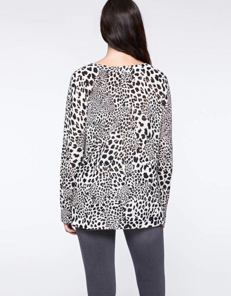 Leopard Crewneck Sweater