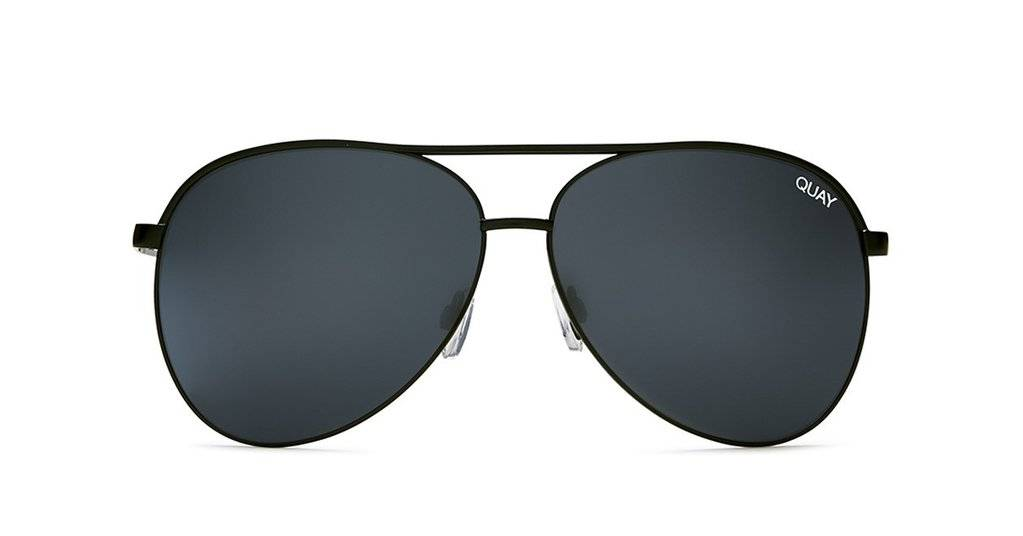 Vivienne Black/Smoke Sunglasses