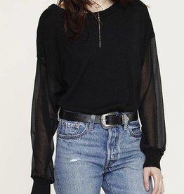 Black Lina Sweater
