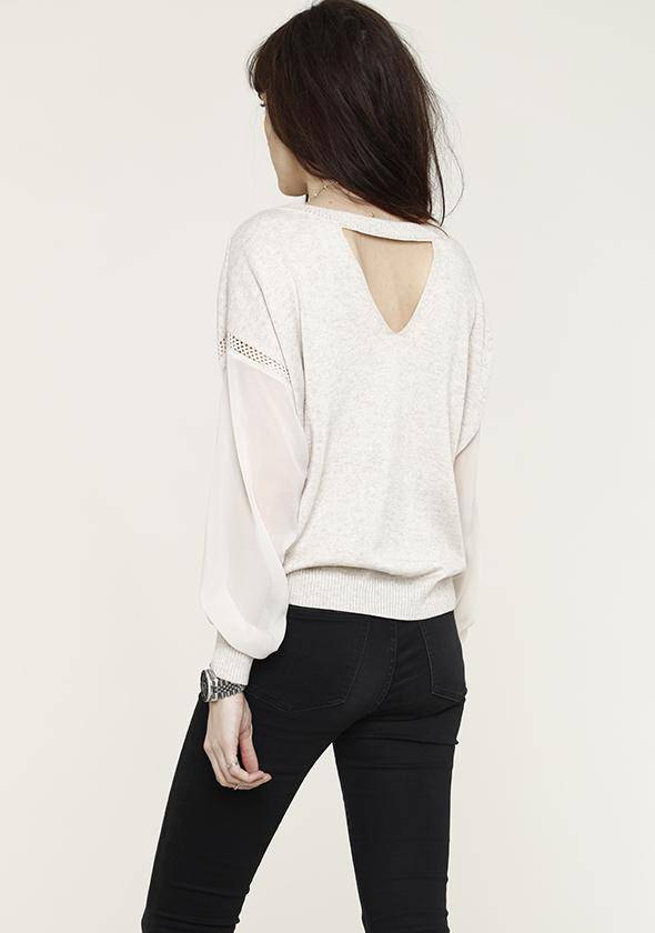 Oatmeal Lina Sweater