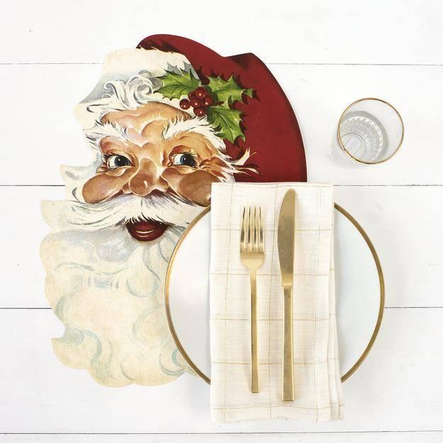 Santa Placemats-Set of 12