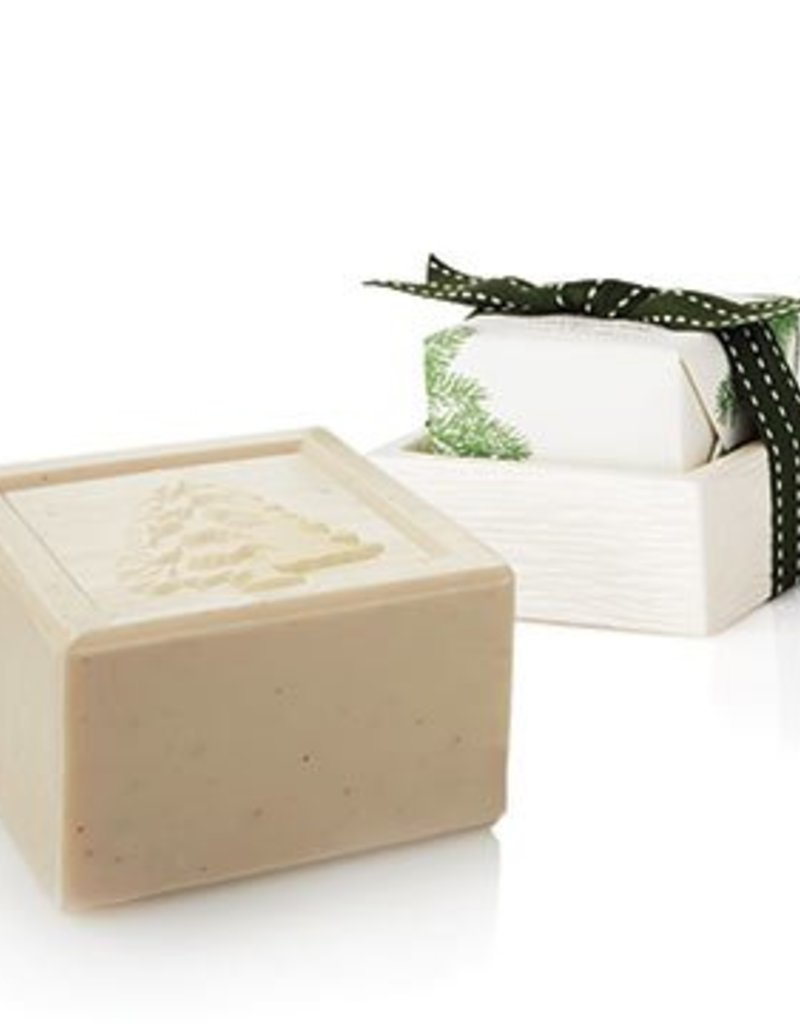 Frasier Fir Bar Soap&Dish Set