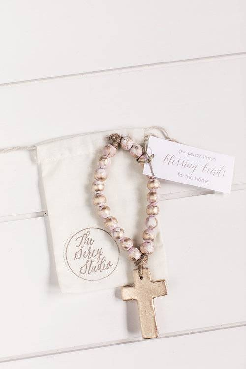 Pink Bitty Blessing Beads