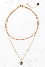 Taylor Necklace Gold