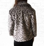 Snow Leopard Fur Jacket