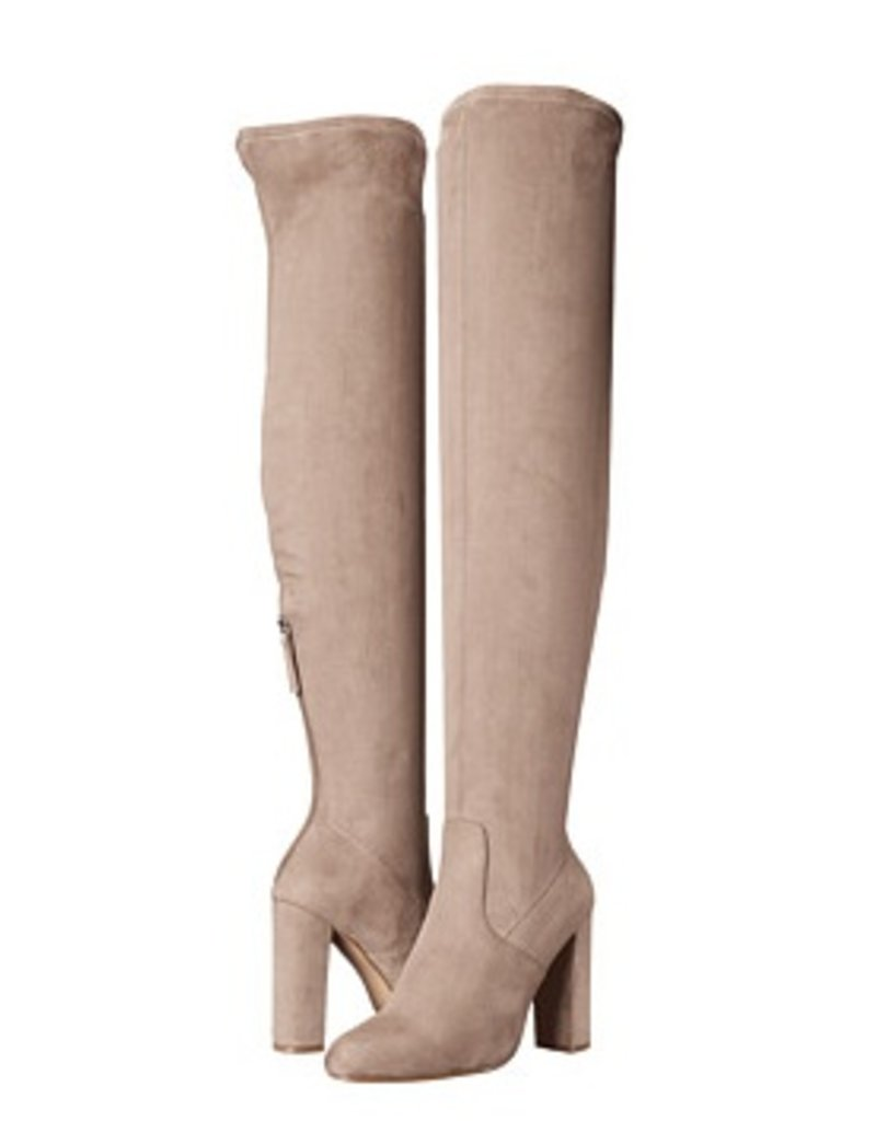 Over the Knee Boot Taupe
