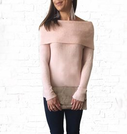 Blush Mello Sweater