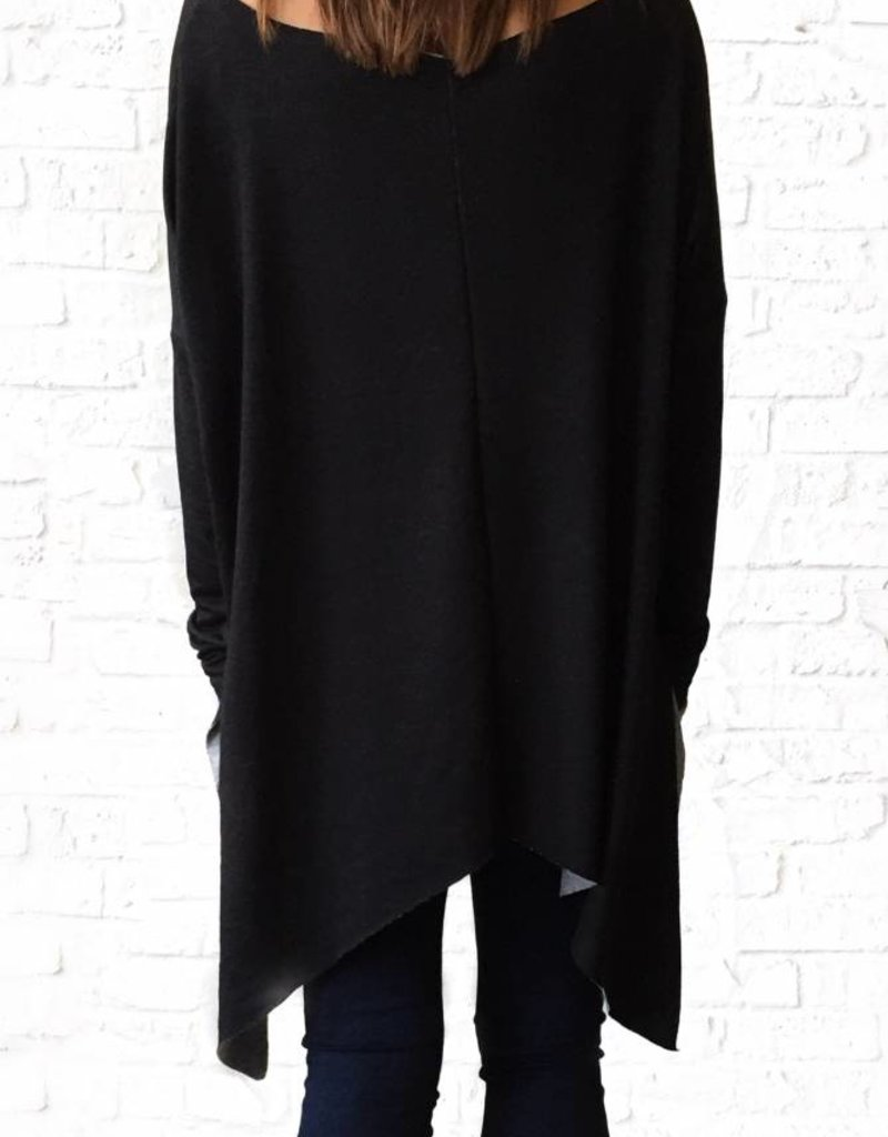 Oversized French Terry Top