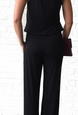 Black Twist Neck Jumpsuit