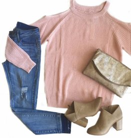 Riley Bare Shoulder Sweater