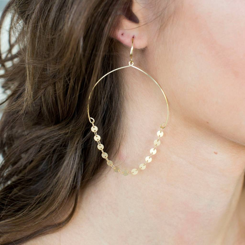 Fairley Gold Earring
