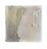 4x4 Silver/Blush Abstract