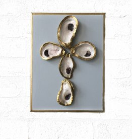 9x12 Oyster Canvas Cross-Lt. Blue