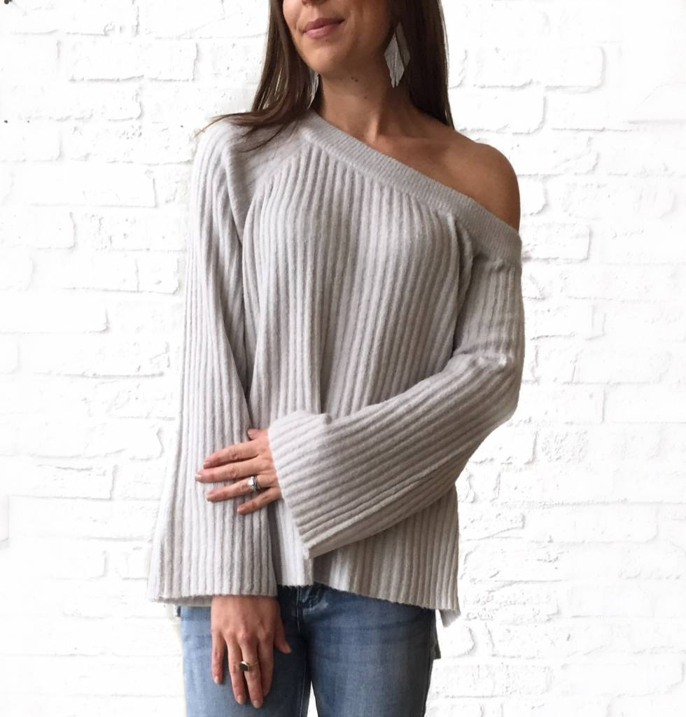 Heather Grey Aurelia Sweater