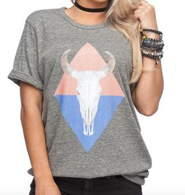 Grey Diamond Bullhead Tee