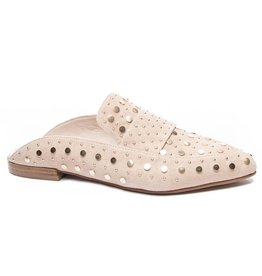 Blush Gold Studded Mule