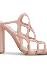Honeycomb Blush Block Heel
