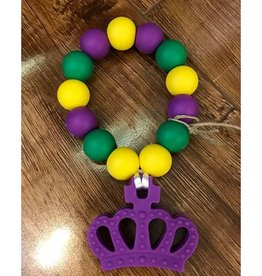Mardi Gras Teether