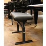 """Hidrau Model Hidrau Model 30"""" Hydraulic Adjustable Piano Bench Vinyl"""