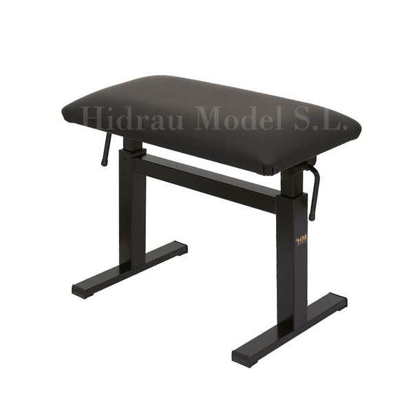 "Hidrau Model Hidrau Model 26"" Hydraulic Adjustable Piano Bench Vinyl"