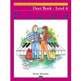 Alfred Music Alfred's Basic Piano Course: Duet Book 4