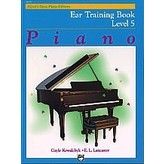 Alfred Music Alfred's Basic Piano Course: Ear Training Book 5