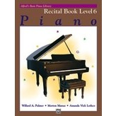 Alfred Music Alfred's Basic Piano Course: Recital Book 6