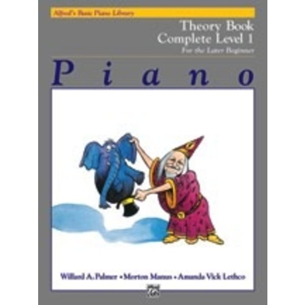 Alfred Music Alfred's Basic Piano Course: Theory Book Complete 1 (1A/1B)