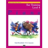 Alfred Music Alfred's Basic Piano Course: Ear Training Book 4