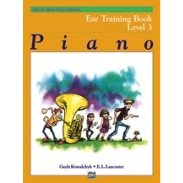 Alfred Music Alfred's Basic Piano Course: Ear Training Book 3