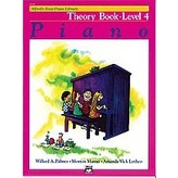 Alfred Music Alfred's Basic Piano Course: Theory Book 4