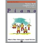 Alfred Music Alfred's Basic Piano Course: Technic Book Complete 1 (1A/1B)