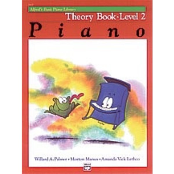 Alfred Music Alfred's Basic Piano Course: Theory Book 2