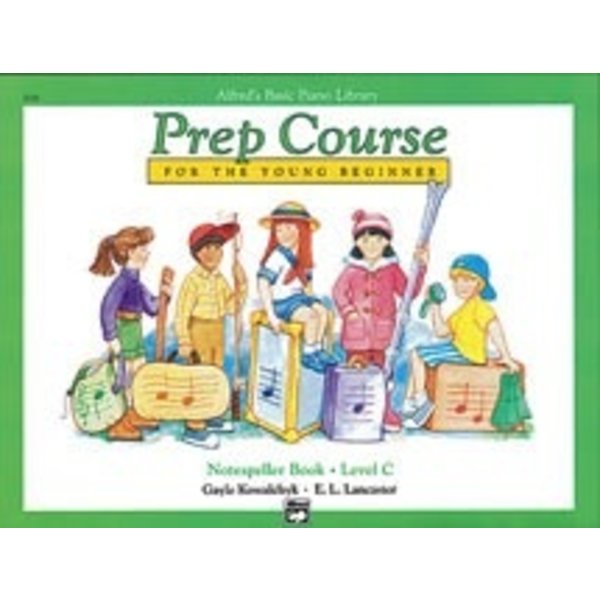 Alfred Music Alfred's Basic Piano Prep Course: Notespeller Book C