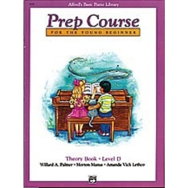 Alfred Music Alfred's Basic Piano Prep Course: Theory Book D