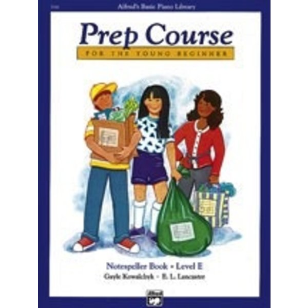 Alfred Music Alfred's Basic Piano Prep Course: Notespeller Book E
