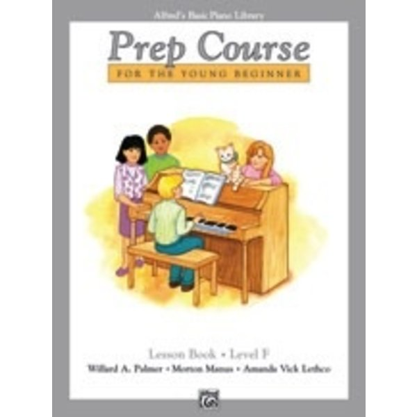 Alfred Music Alfred's Basic Piano Prep Course: Lesson Book F