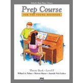 Alfred Music Alfred's Basic Piano Prep Course: Theory Book F